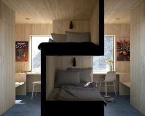 Rustic Tiny House Design Ideas With Two Beds38