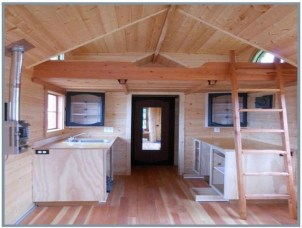 Rustic Tiny House Design Ideas With Two Beds40