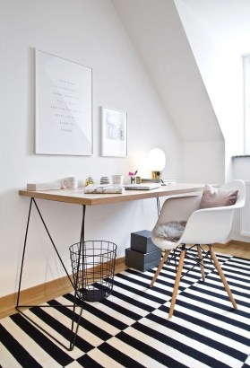 Splendid Monochrome Home Office Decor Ideas To Apply Asap18
