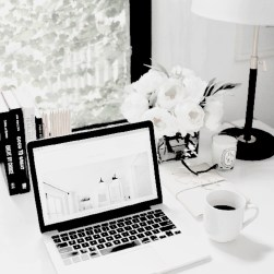 Splendid Monochrome Home Office Decor Ideas To Apply Asap23