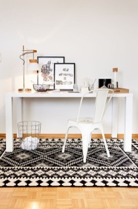 Splendid Monochrome Home Office Decor Ideas To Apply Asap26