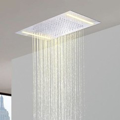 Stunning Rainfall Shower Ideas37