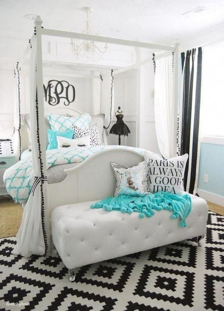 Superb Teen Girl Bedroom Theme Ideas17
