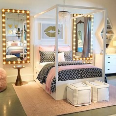 Superb Teen Girl Bedroom Theme Ideas28