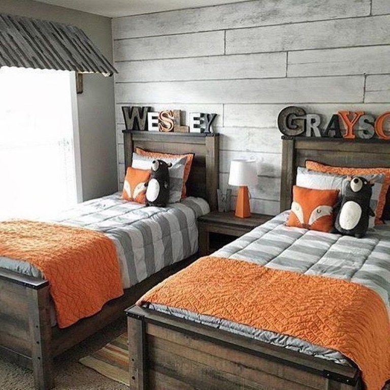 Vintage Shared Rooms Decor Ideas For Teen Boy10
