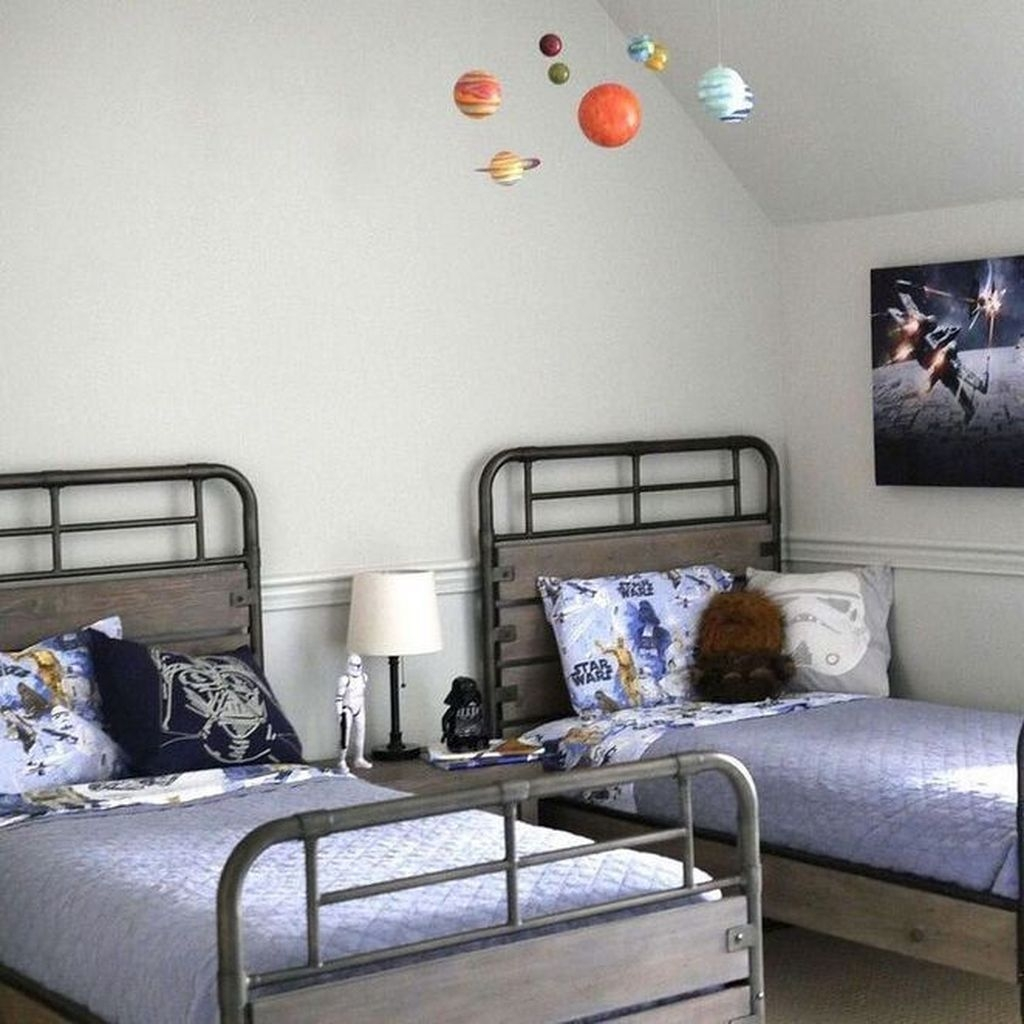 Vintage Shared Rooms Decor Ideas For Teen Boy35
