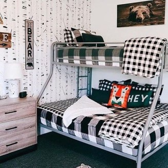 Vintage Shared Rooms Decor Ideas For Teen Boy37