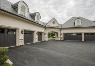 Astonishing House Design Ideas With With Car Garage08