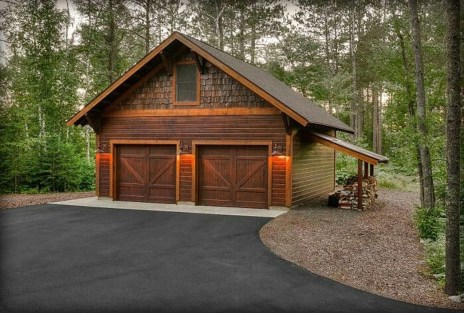 Astonishing House Design Ideas With With Car Garage13