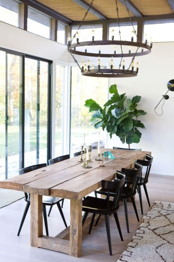 Best Minimalist Dining Room Design Ideas For Dinner With Your Family03