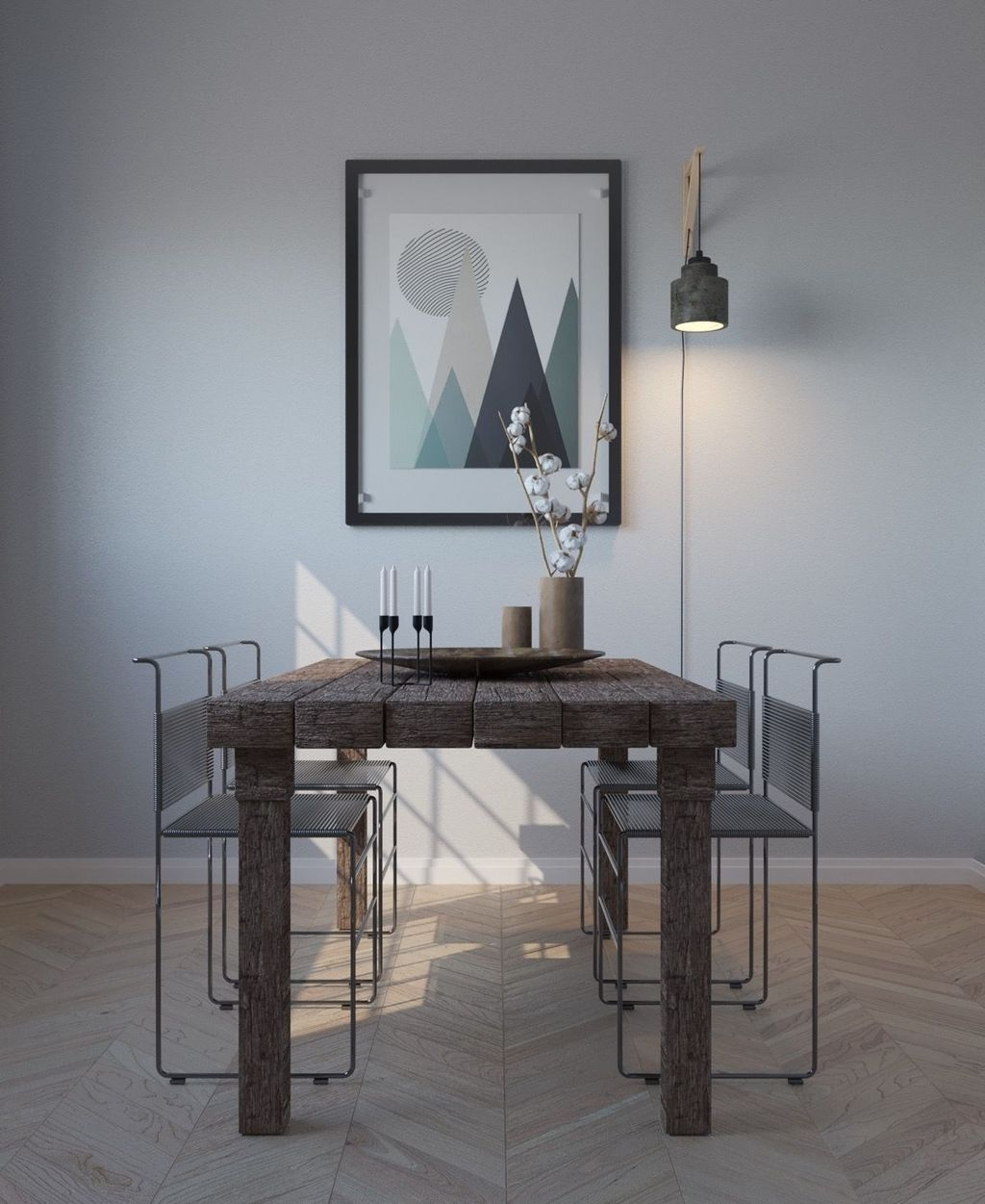 Best Minimalist Dining Room Design Ideas For Dinner With Your Family08