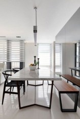 Best Minimalist Dining Room Design Ideas For Dinner With Your Family10