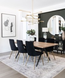 Best Minimalist Dining Room Design Ideas For Dinner With Your Family23