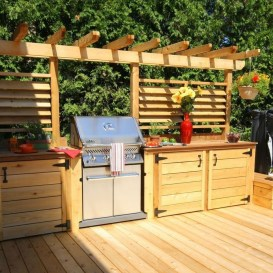 Brilliant Outdoor Kitchen Design Ideas For You Nowaday30
