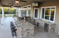 Brilliant Outdoor Kitchen Design Ideas For You Nowaday45