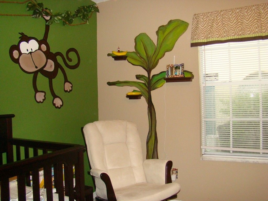 Charming Kids Bedroom Ideas With Jungle Theme To Try01