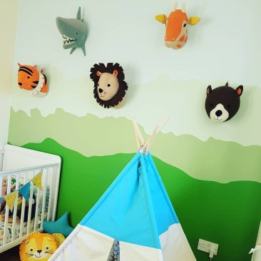 Charming Kids Bedroom Ideas With Jungle Theme To Try04