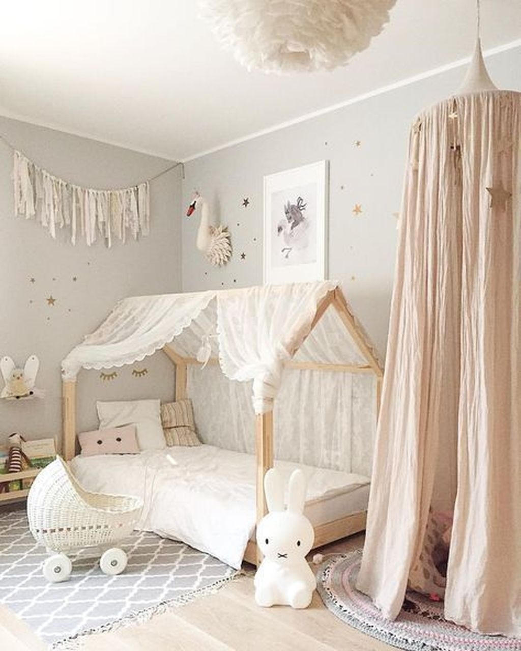 Comfy Kids Bedroom Decoration Ideas That Trendy Now47