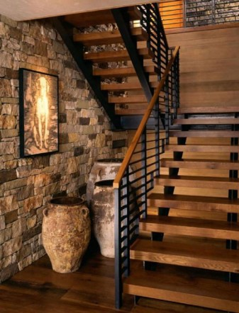 Cool Indoor Stair Design Ideas You Must See41
