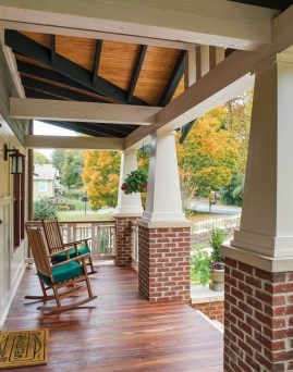 Cozy Front Porch Design And Decor Ideas For You Asap35
