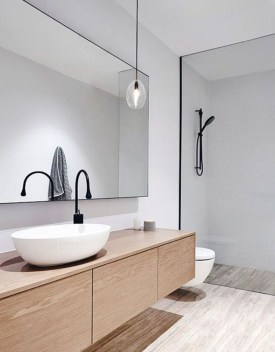 Cute Minimalist Bathroom Design Ideas For Your Inspiration06