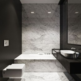 Cute Minimalist Bathroom Design Ideas For Your Inspiration40