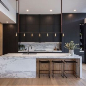 Elegant Black Kitchen Design Ideas You Need To Try09
