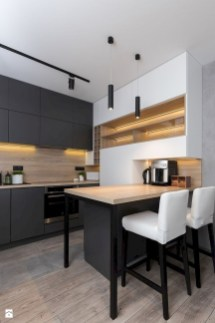 Elegant Black Kitchen Design Ideas You Need To Try25