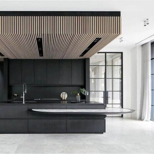 Elegant Black Kitchen Design Ideas You Need To Try37