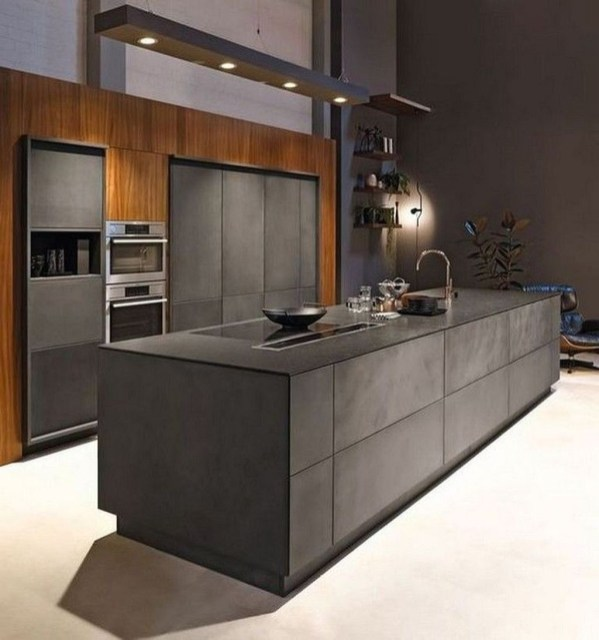 Elegant Black Kitchen Design Ideas You Need To Try39