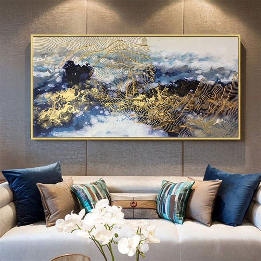 Latest Wall Decoration Ideas For Stunning Living Room20
