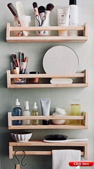 Modern Bathroom Floating Shelves Design Ideas For You05
