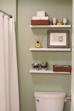Modern Bathroom Floating Shelves Design Ideas For You29