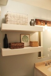 Modern Bathroom Floating Shelves Design Ideas For You38