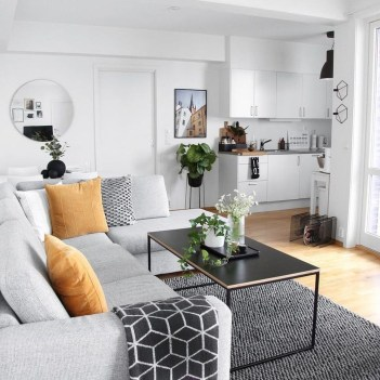 Newest Living Room Apartment Design Ideas For Your Apartment31