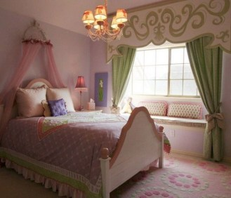 Pretty Princess Bedroom Design And Decor Ideas For Your Lovely Girl02