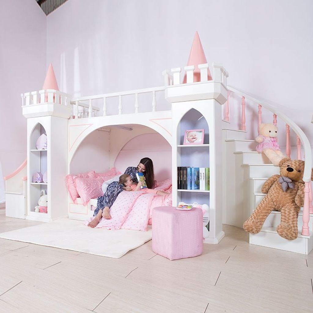 Pretty Princess Bedroom Design And Decor Ideas For Your Lovely Girl07