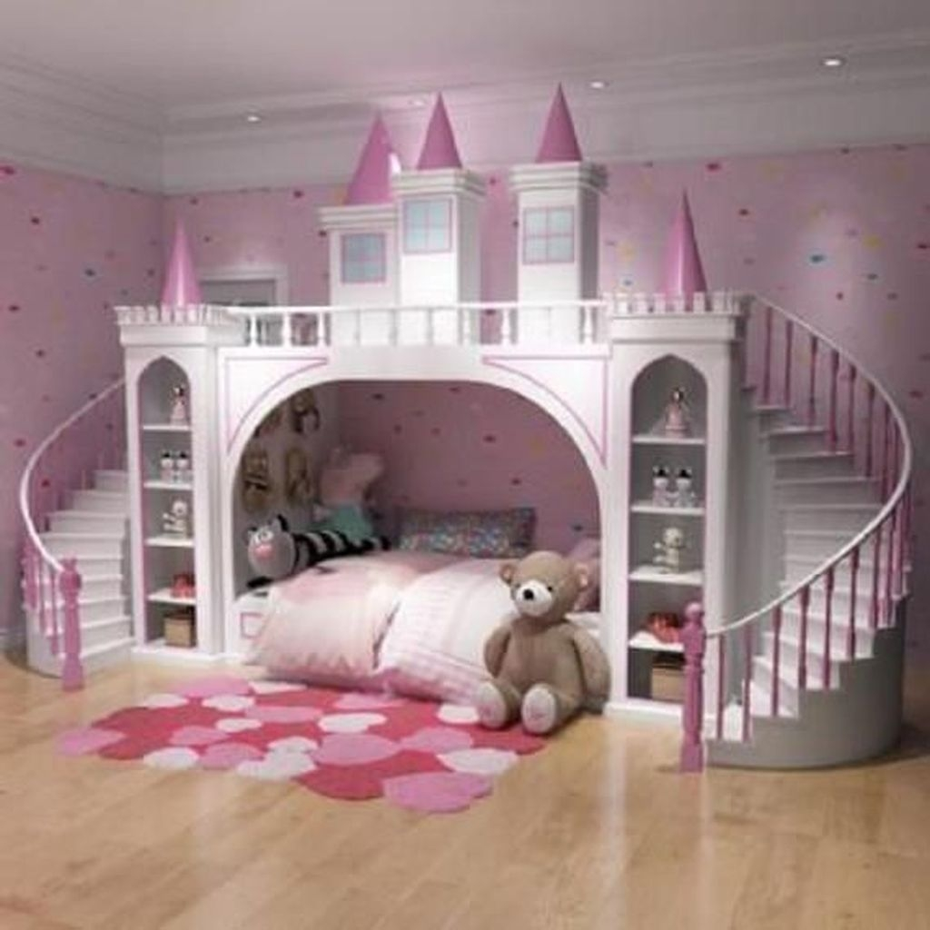Pretty Princess Bedroom Design And Decor Ideas For Your Lovely Girl15 Trendedecor