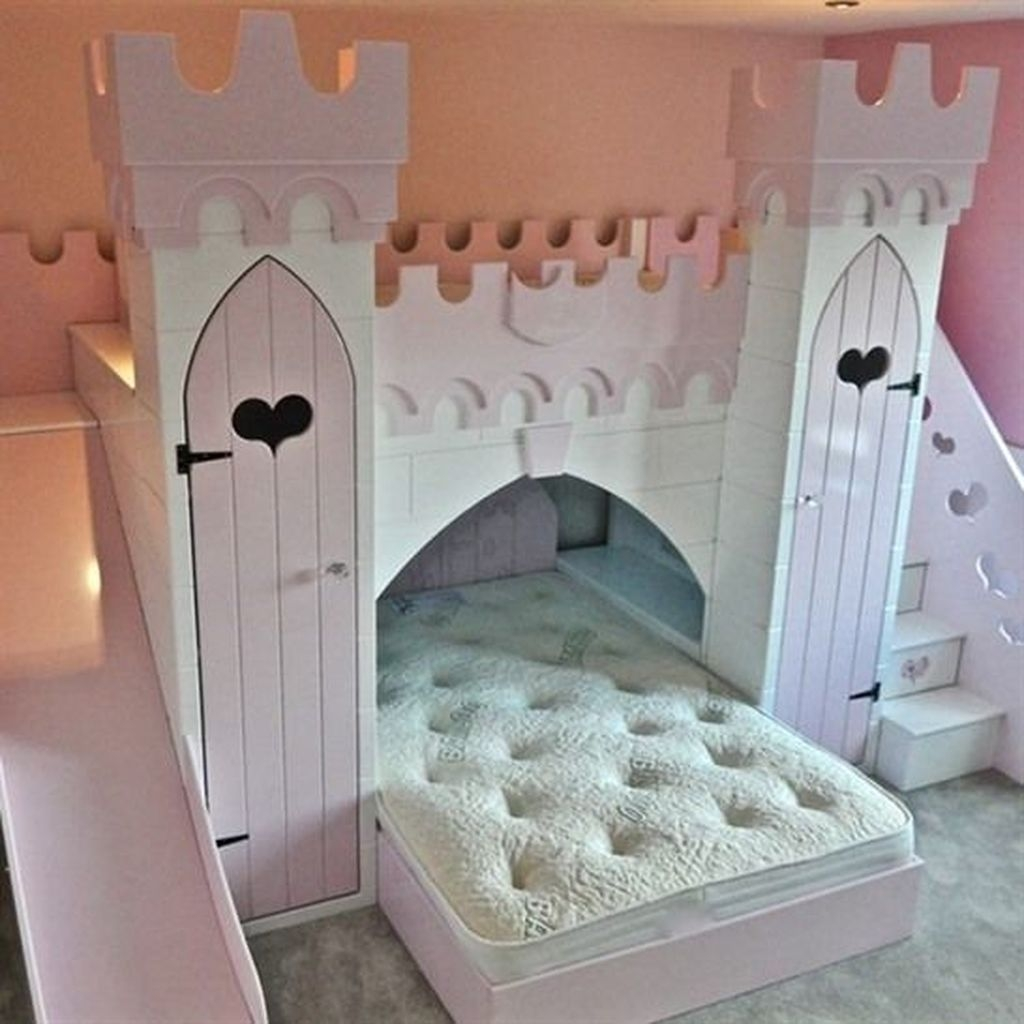 Pretty Princess Bedroom Design And Decor Ideas For Your Lovely Girl22