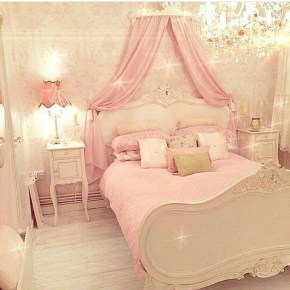 Pretty Princess Bedroom Design And Decor Ideas For Your Lovely Girl25