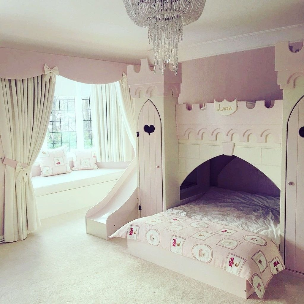 Pretty Princess Bedroom Design And Decor Ideas For Your Lovely Girl36