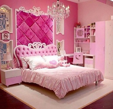 Pretty Princess Bedroom Design And Decor Ideas For Your Lovely Girl40