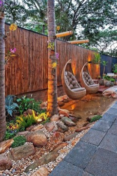 Smart Backyard Fence And Garden Design Ideas For Your Garden28