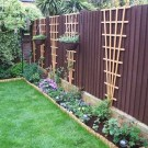 Smart Backyard Fence And Garden Design Ideas For Your Garden31