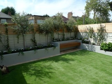 Smart Backyard Fence And Garden Design Ideas For Your Garden46