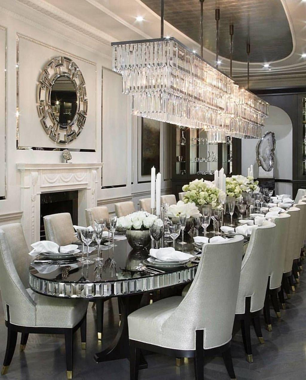 Spectacular Lighting Design Ideas For Awesome Dining Room34