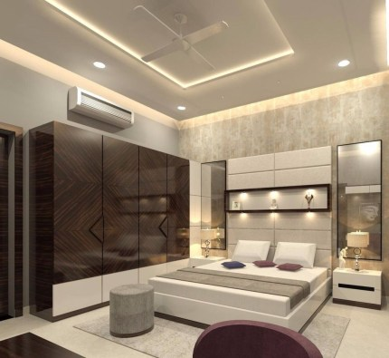 Unordinary Ceiling Design Ideas For Your Bedroom25