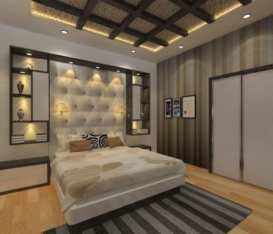 Unordinary Ceiling Design Ideas For Your Bedroom38
