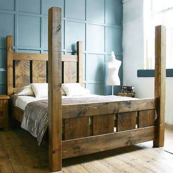 Unordinary Recycled Pallet Bed Frame Ideas To Make It Yourself28