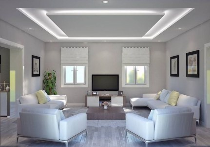 Unusual Ceiling Designs Ideas For Living Rooms08